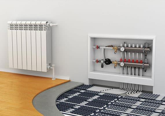 Монтаж отопления в частном доме в Московской области