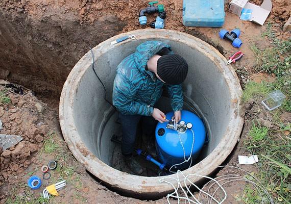Водоснабжение из колодца в Московской области